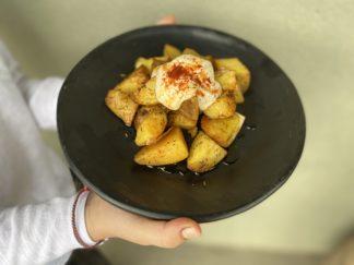 patatas bravas al horno